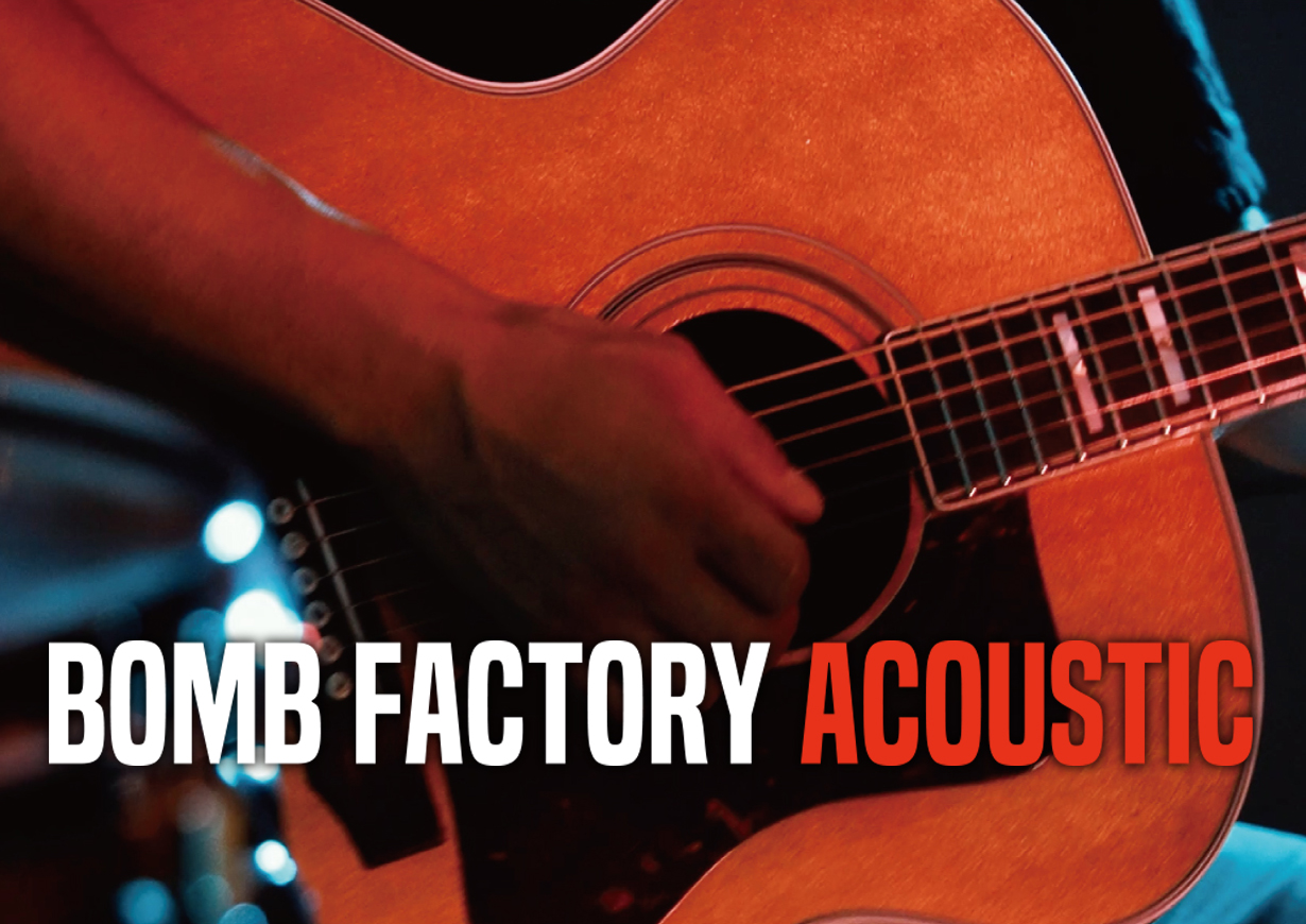 BOMB FACTORY ACOUSTIC「FLY」デジタル配信 リリース!